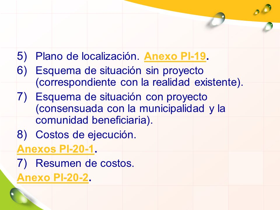 Plano de localización. Anexo PI-19.