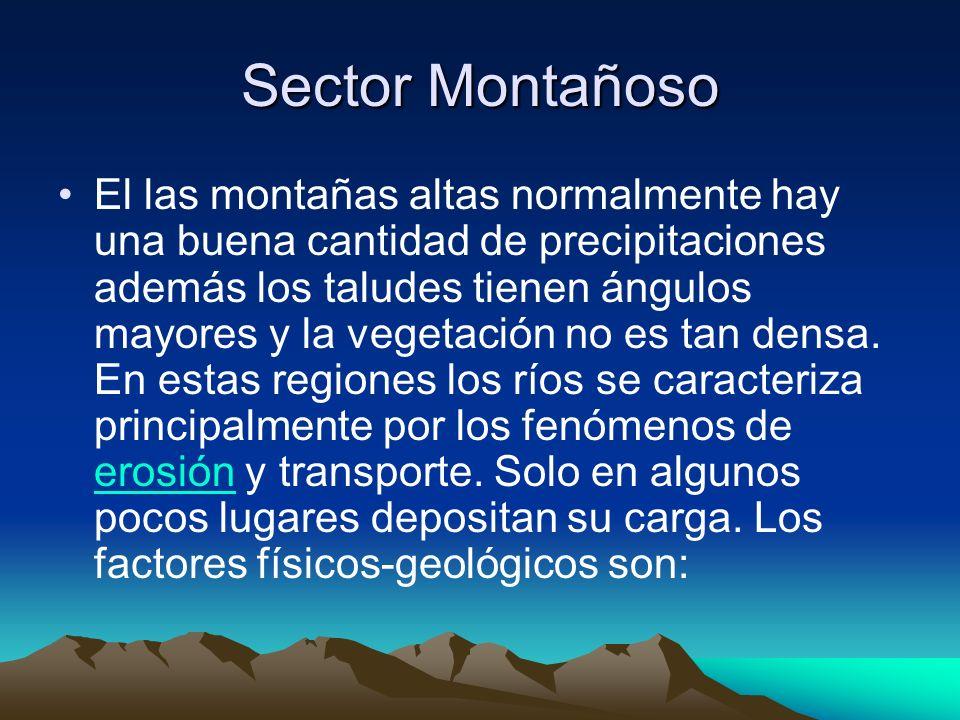 Sector Montañoso