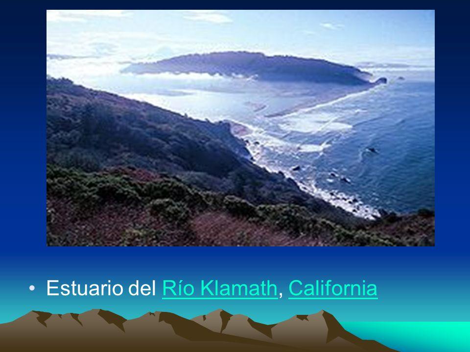 Estuario del Río Klamath, California