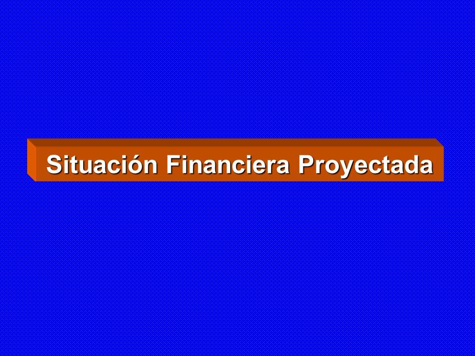 Situación Financiera Proyectada