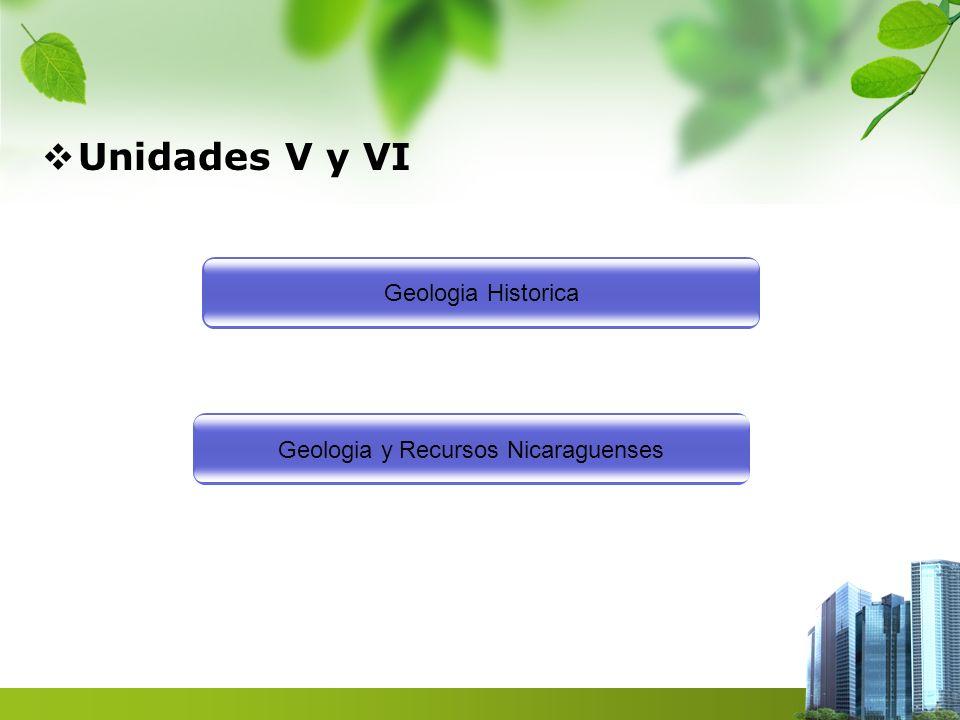 Geologia y Recursos Nicaraguenses