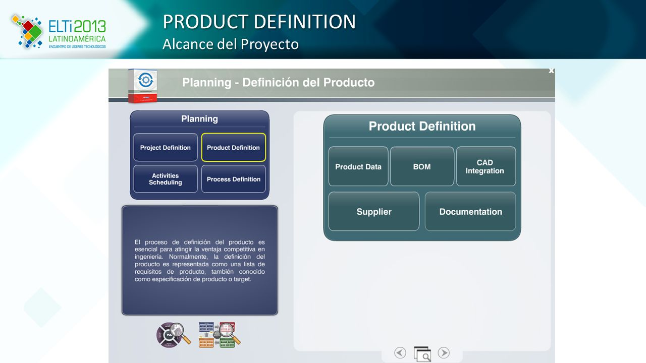PRODUCT DEFINITION Alcance del Proyecto