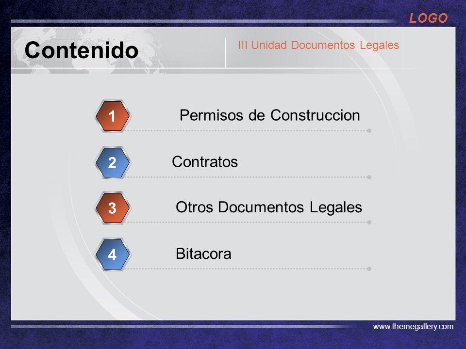 Contenido 1 Permisos de Construccion 2 Contratos 3