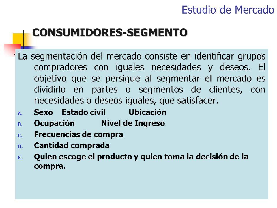 CONSUMIDORES-SEGMENTO
