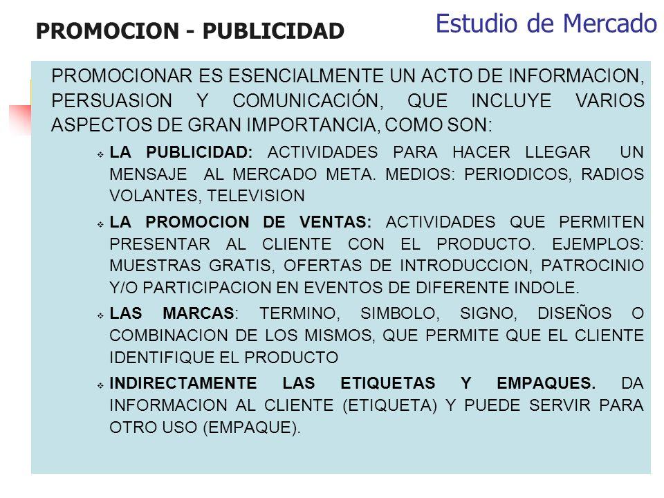 PROMOCION - PUBLICIDAD