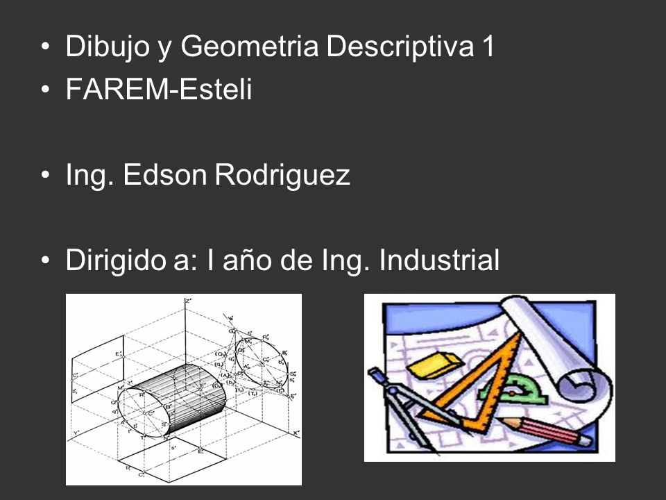 Dibujo y Geometria Descriptiva 1