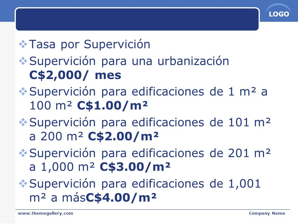 Supervición para una urbanización C$2,000/ mes