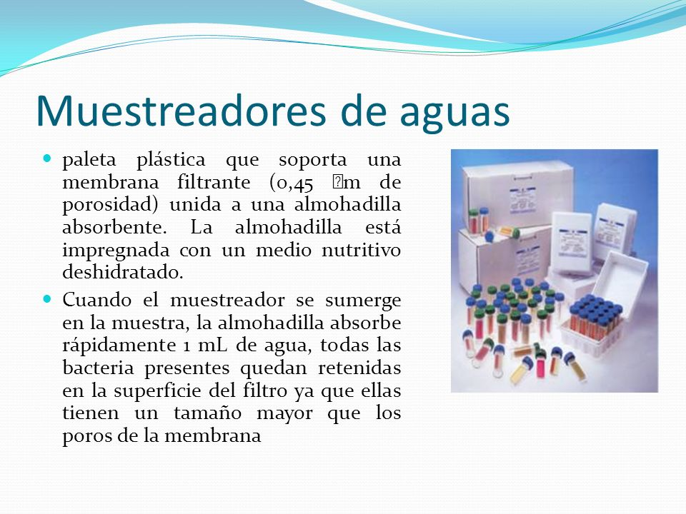 Muestreadores de aguas