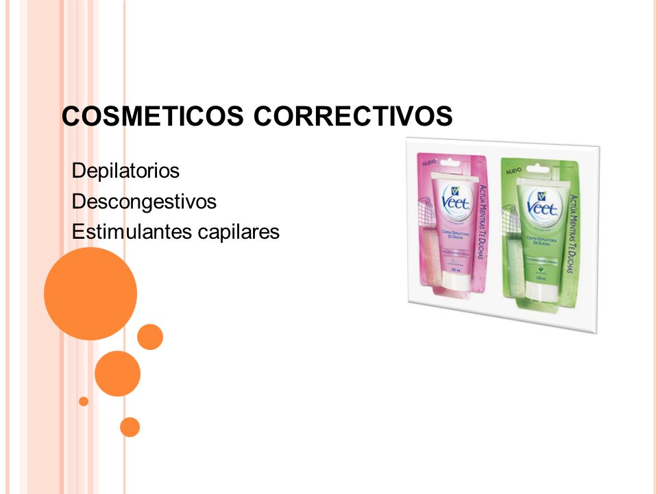 COSMETICOS CORRECTIVOS