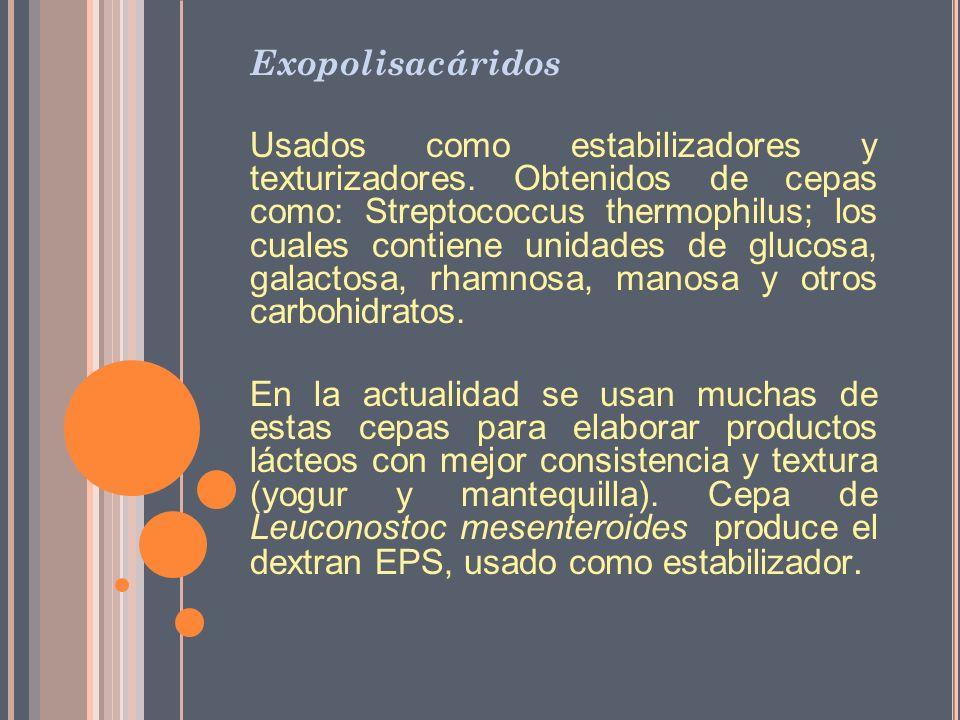 Exopolisacáridos