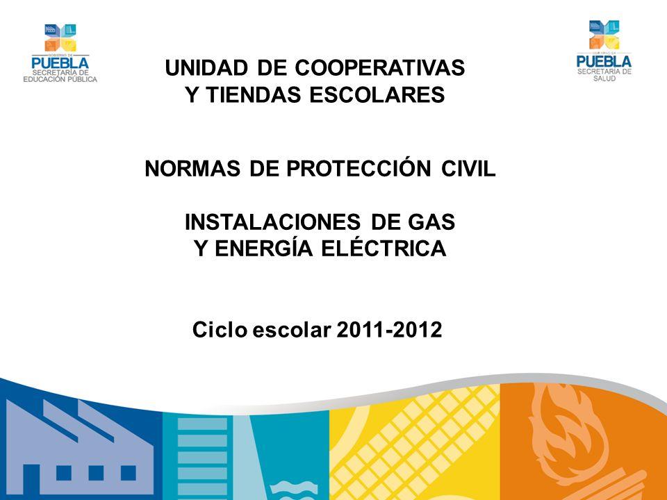 UNIDAD DE COOPERATIVAS NORMAS DE PROTECCIÓN CIVIL