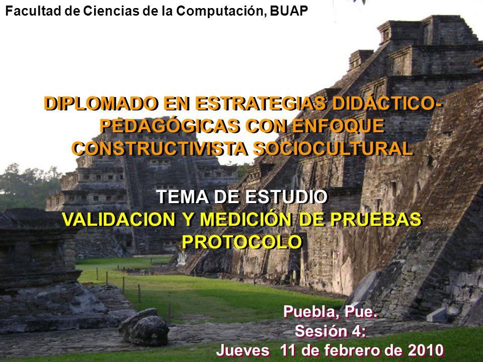 VALIDACION Y MEDICIÓN DE PRUEBAS PROTOCOLO