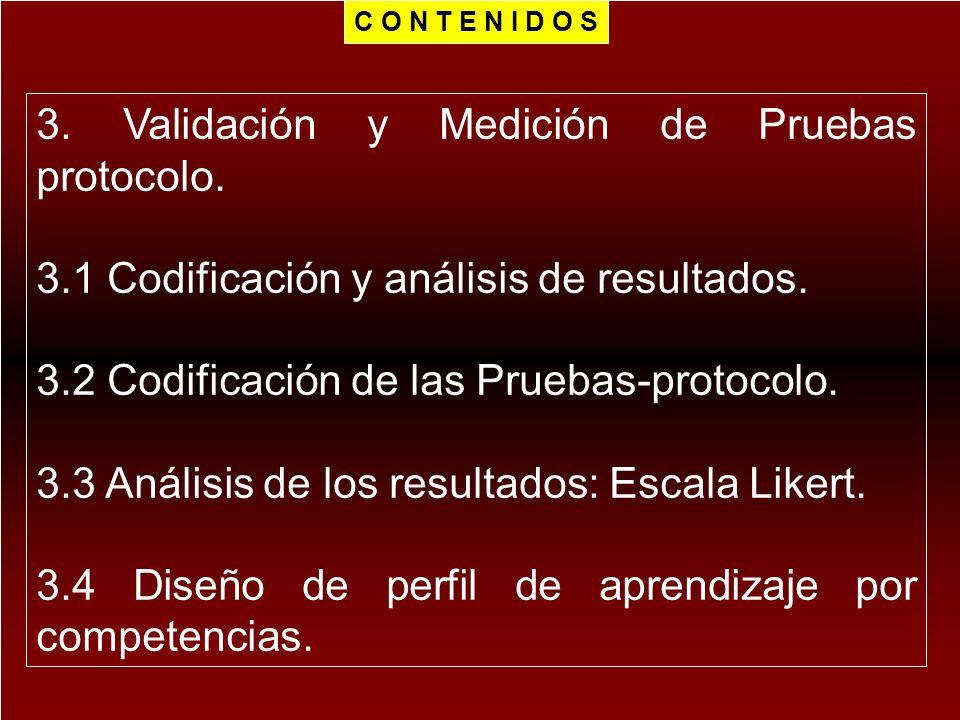 3. Validación y Medición de Pruebas protocolo.