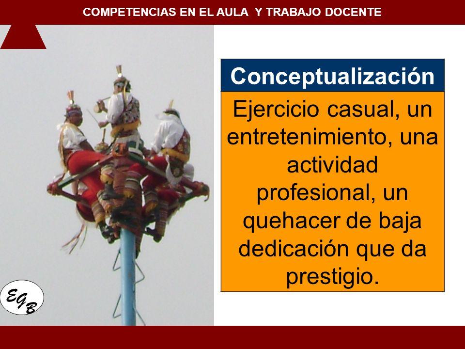 COMPETENCIAS EN EL AULA Y TRABAJO DOCENTE