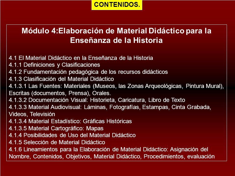 Módulo 4:Elaboración de Material Didáctico para la