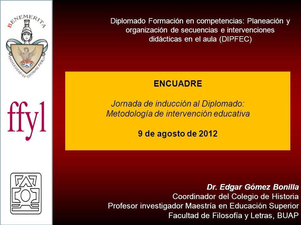 Jornada de inducción al Diplomado: