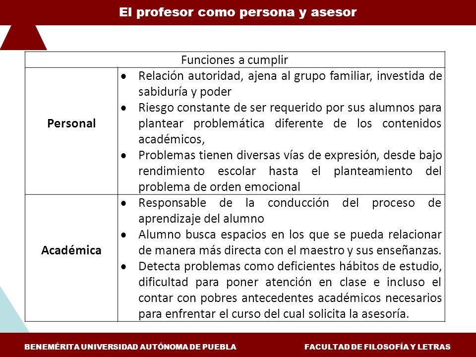Responsable de la conducción del proceso de aprendizaje del alumno