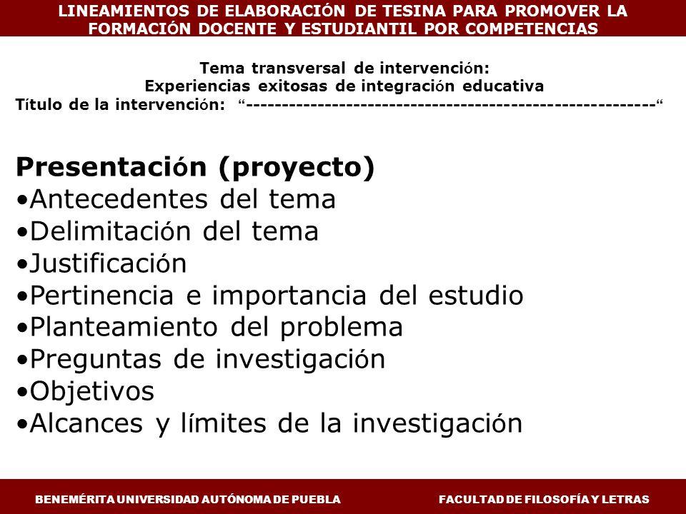 Experiencias exitosas de integración educativa