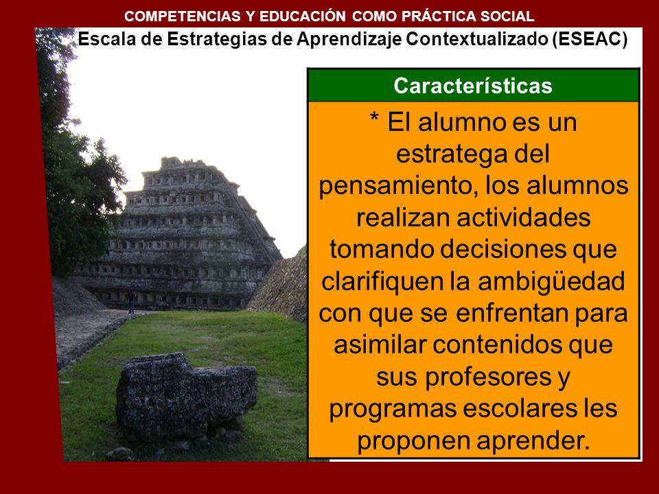 COMPETENCIAS Y EDUCACIÓN COMO PRÁCTICA SOCIAL