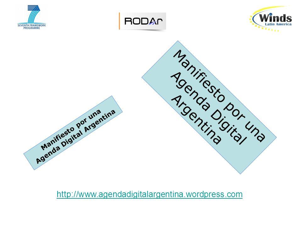 Manifiesto por una Agenda Digital Argentina