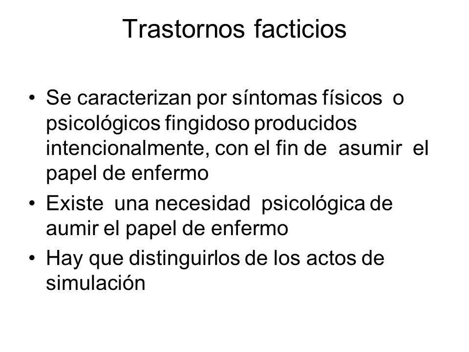 Trastornos facticios
