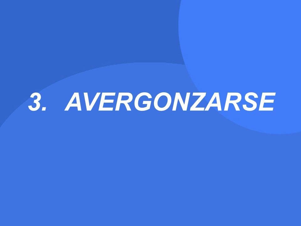 AVERGONZARSE