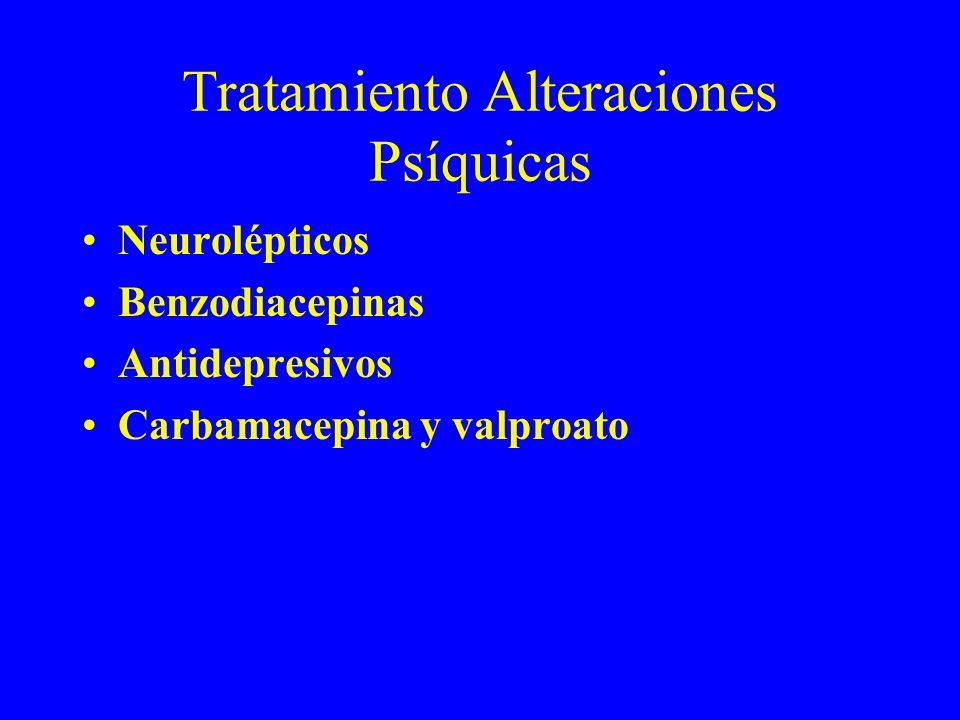 Tratamiento Alteraciones Psíquicas