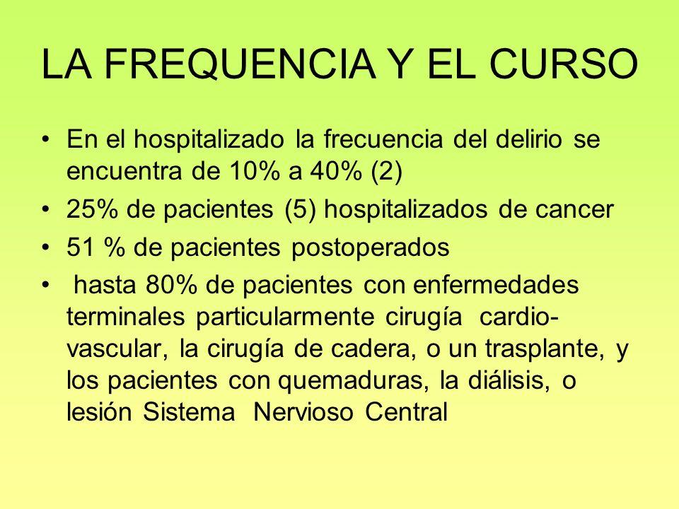 LA FREQUENCIA Y EL CURSO