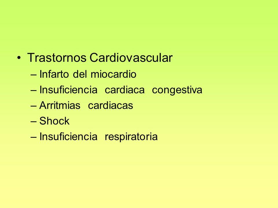 Trastornos Cardiovascular