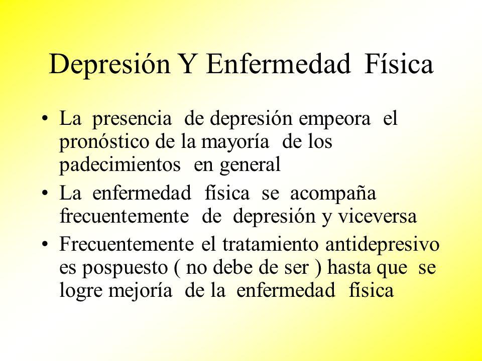 Depresión Y Enfermedad Física