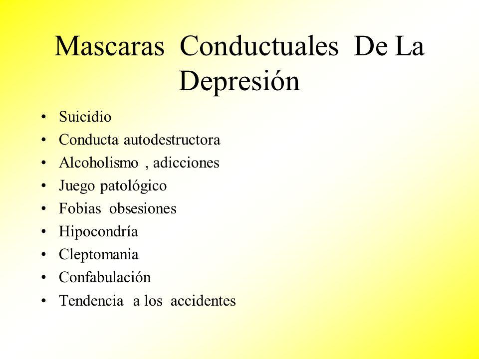 Mascaras Conductuales De La Depresión