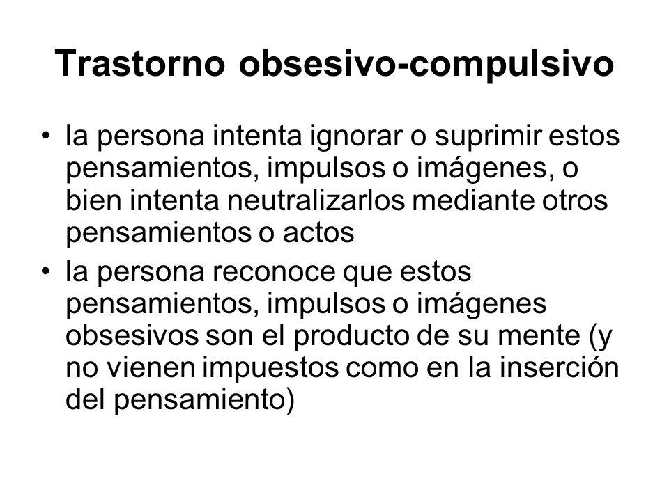 Trastorno obsesivo-compulsivo