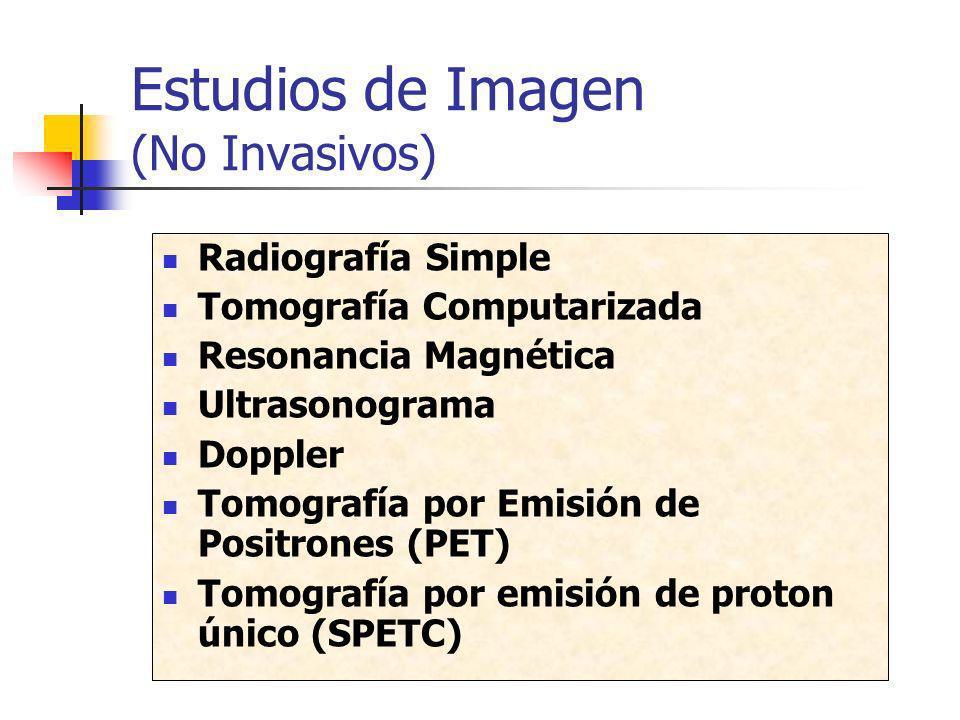 Estudios de Imagen (No Invasivos)