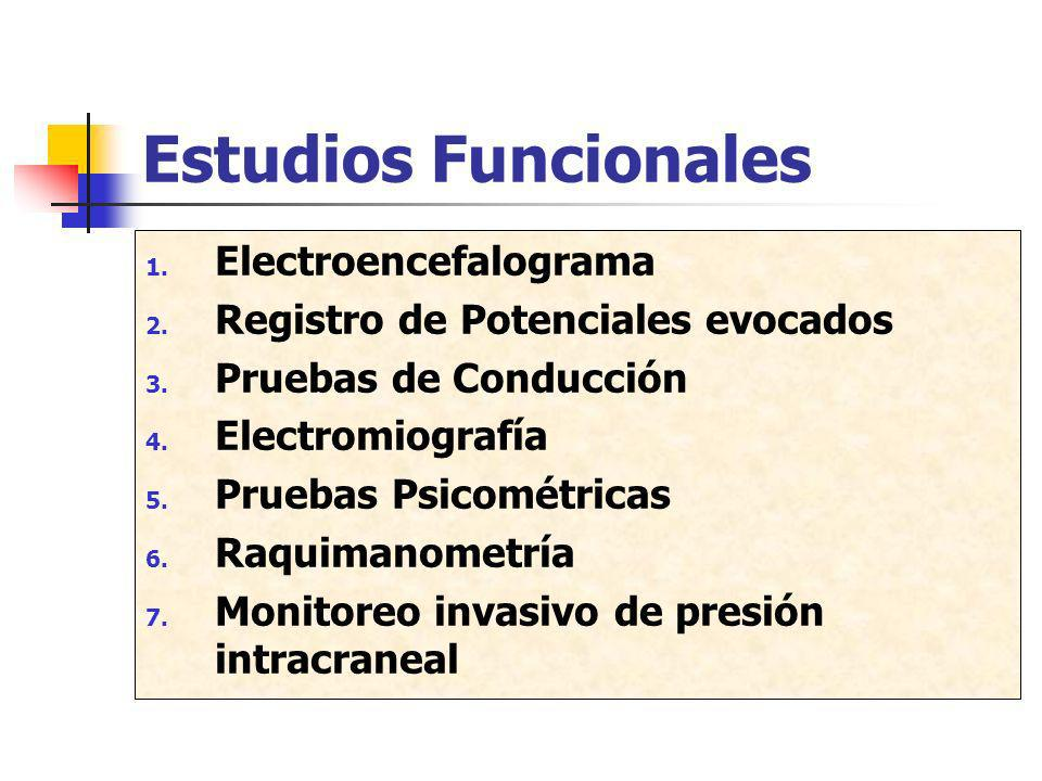 Estudios Funcionales Electroencefalograma