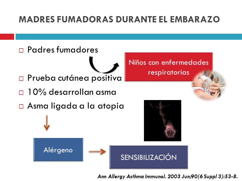 MADRES FUMADORAS DURANTE EL EMBARAZO