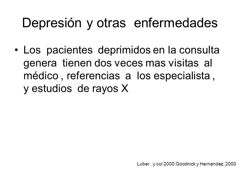 Depresión y otras enfermedades