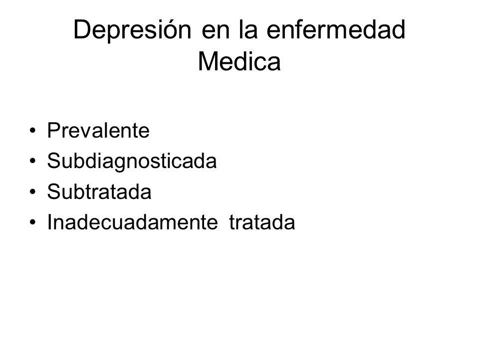Depresión en la enfermedad Medica