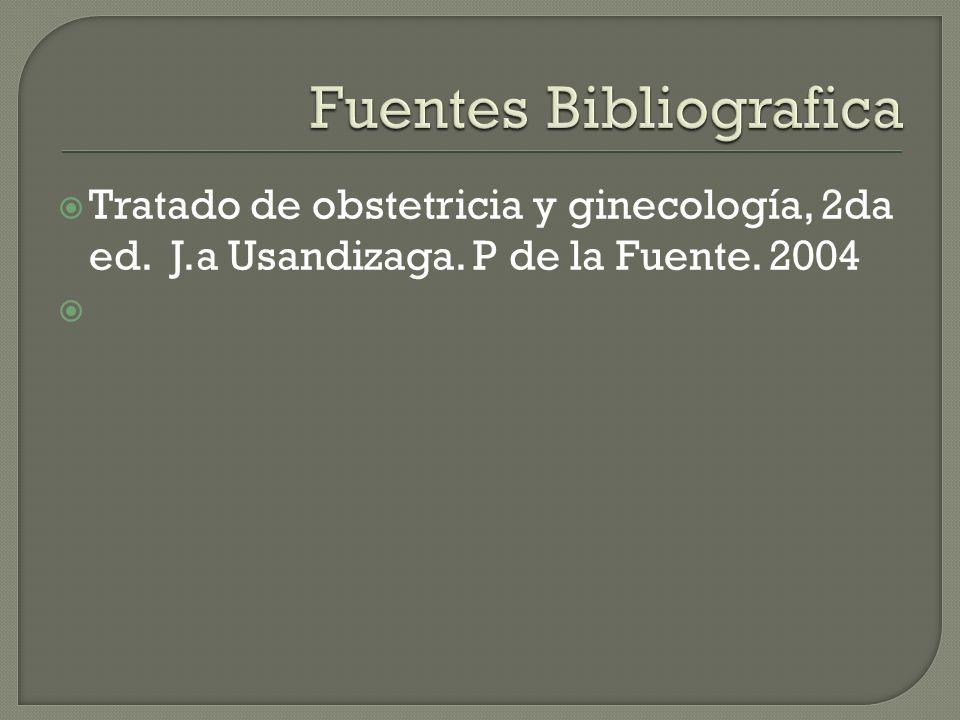 Fuentes Bibliografica