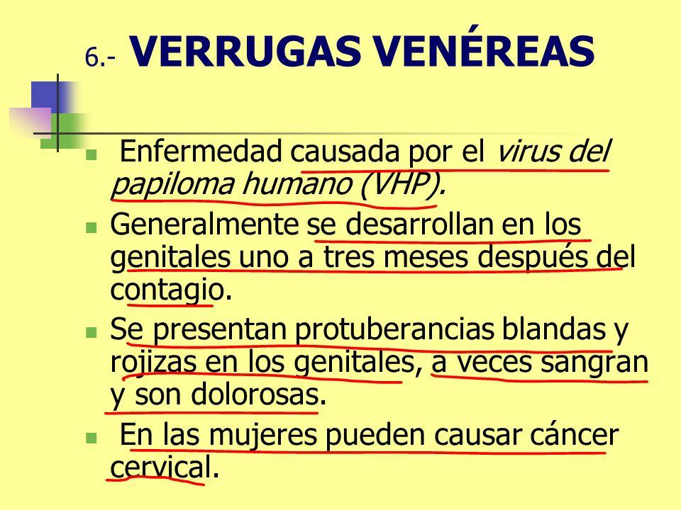 Enfermedad causada por el virus del papiloma humano (VHP).
