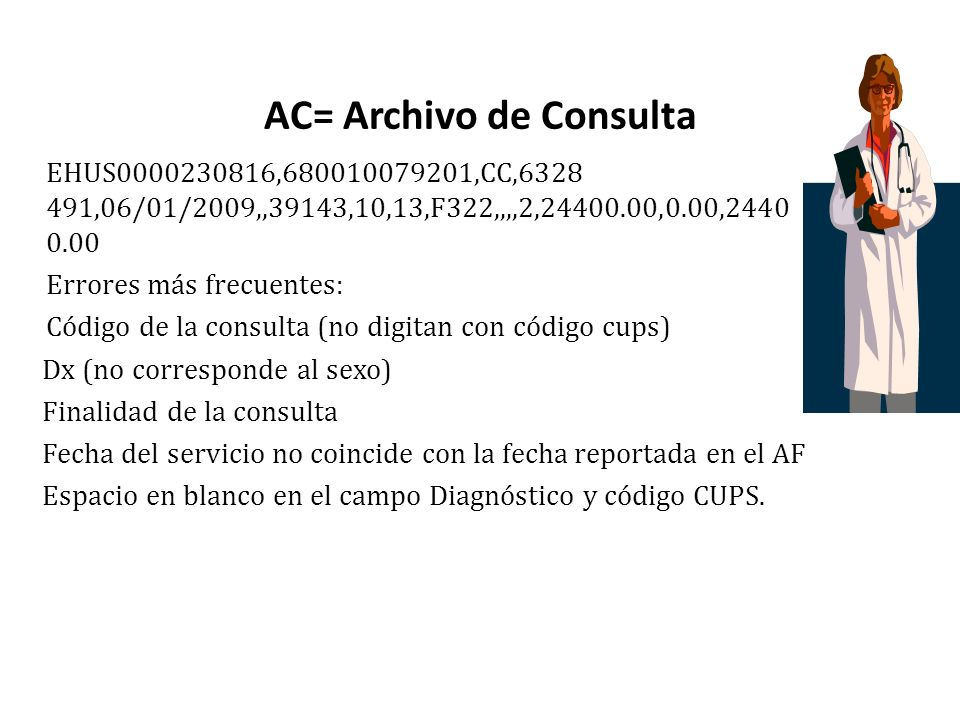 AC= Archivo de Consulta