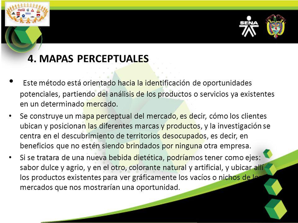 4. MAPAS PERCEPTUALES