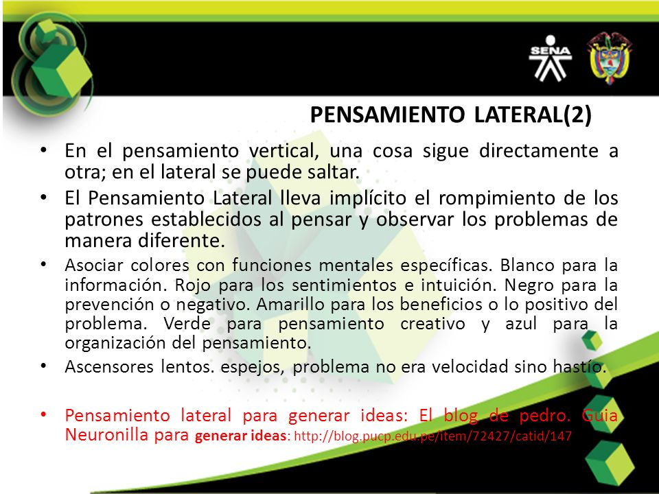 PENSAMIENTO LATERAL(2)