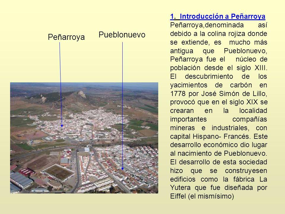 Pueblonuevo Peñarroya 1. Introducción a Peñarroya