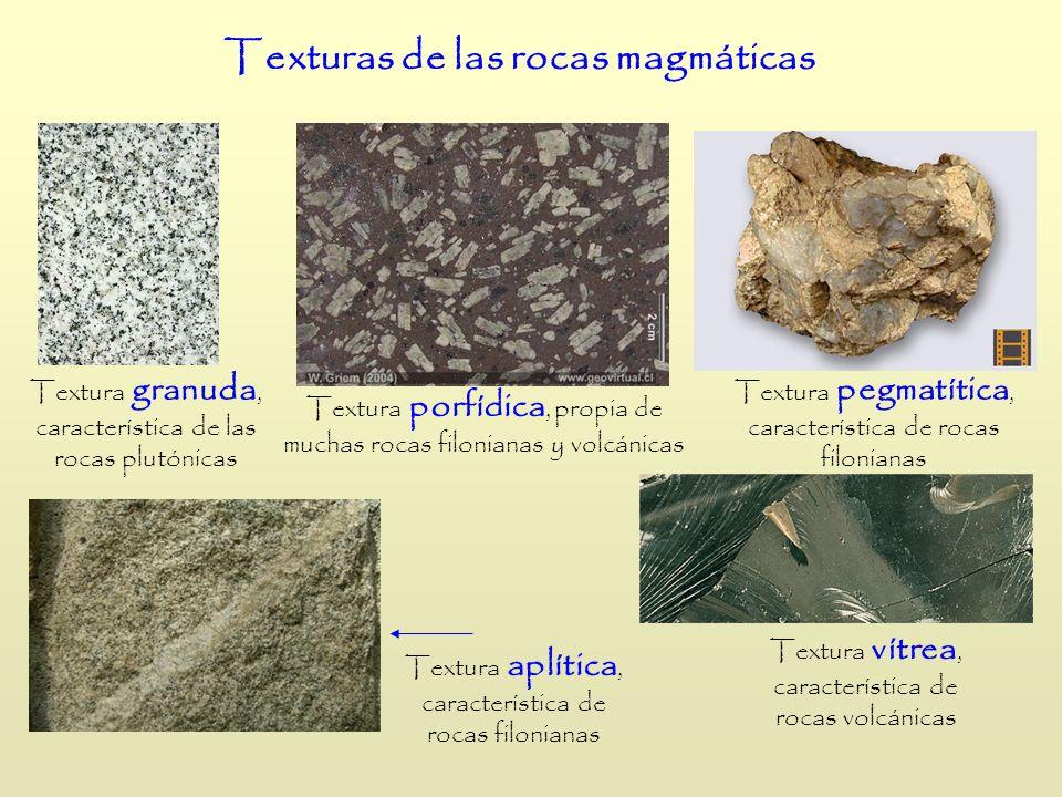 Texturas de las rocas magmáticas