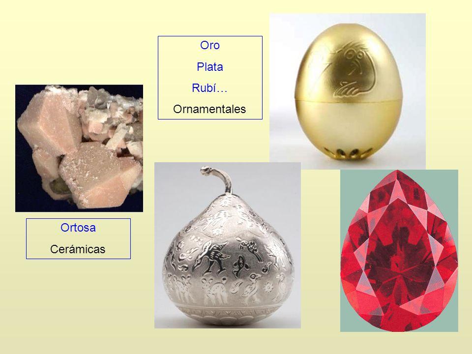 Oro Plata Rubí… Ornamentales Ortosa Cerámicas