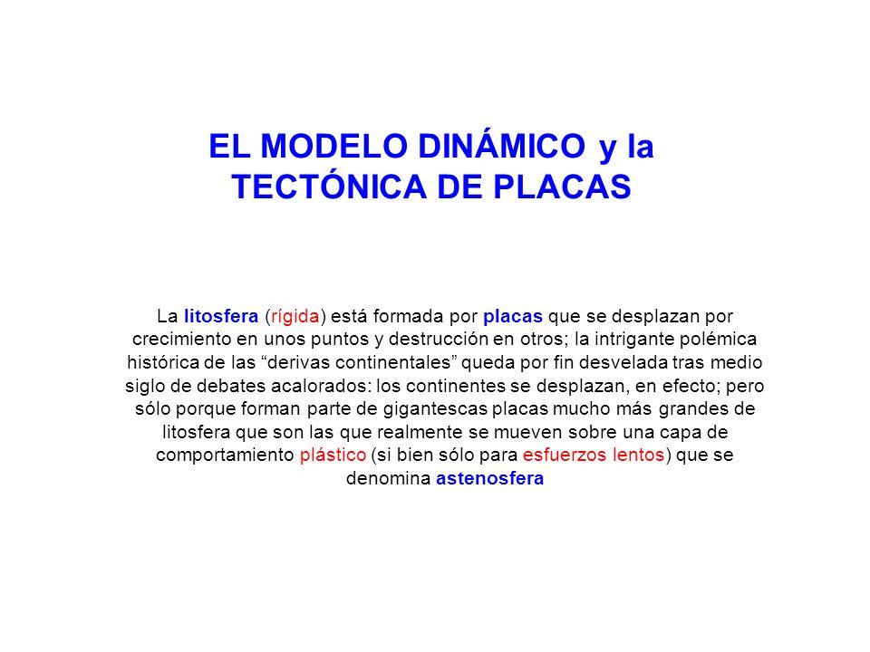 EL MODELO DINÁMICO y la TECTÓNICA DE PLACAS