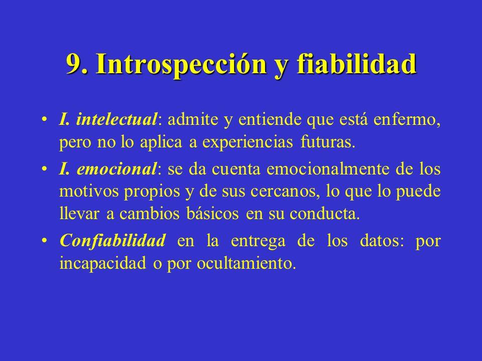 9. Introspección y fiabilidad