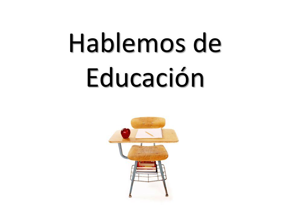 Hablemos de Educación