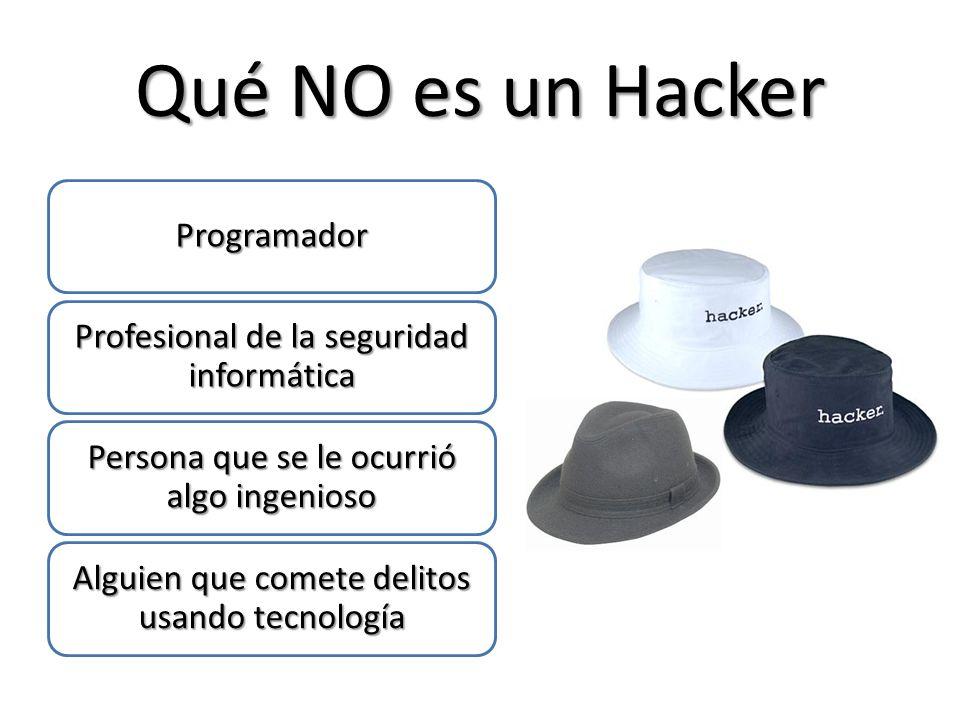 Qué NO es un Hacker Programador