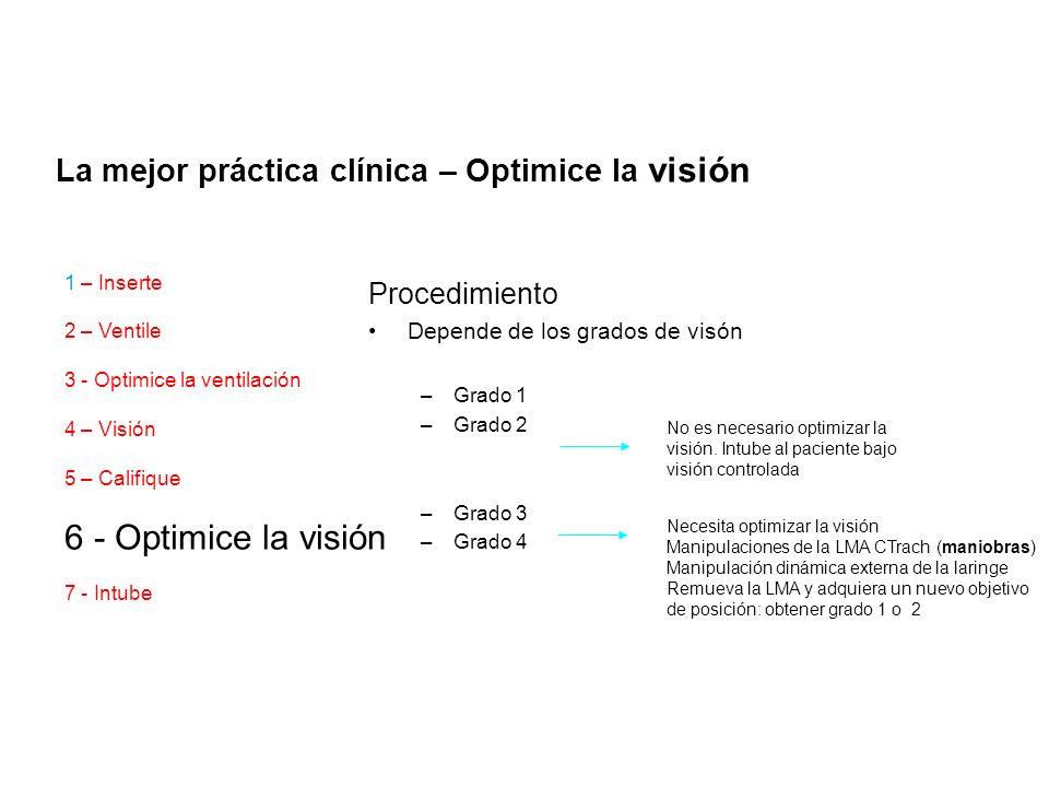 6 - Optimice la visión La mejor práctica clínica – Optimice la visión